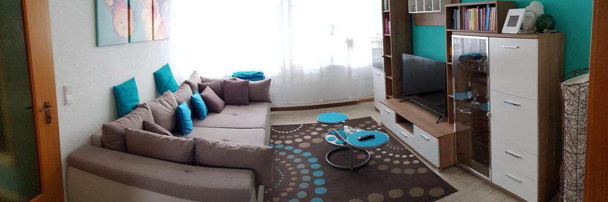"""Wohnzimmer Apartment """"Kunterbunt"""""""