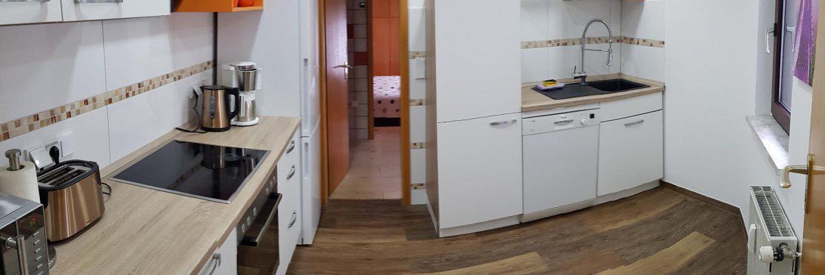 """Küche Apartment """"Kunterbunt"""""""