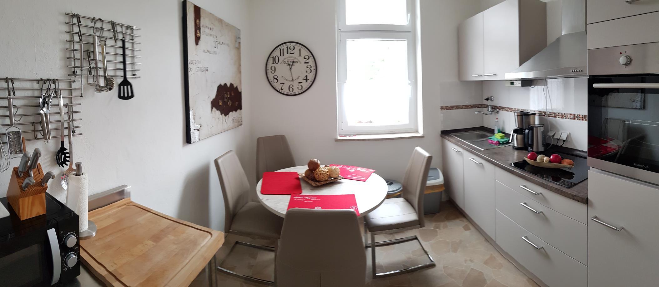 """Küche Apartment """"Wohnträume"""""""